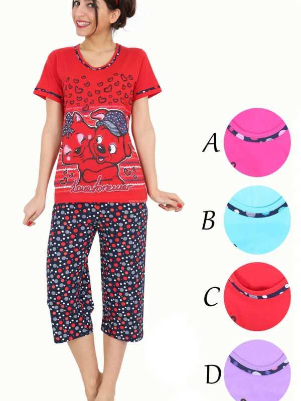 Пижама женская Капри 51729