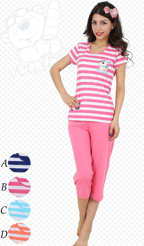 Пижама женская Капри 4254
