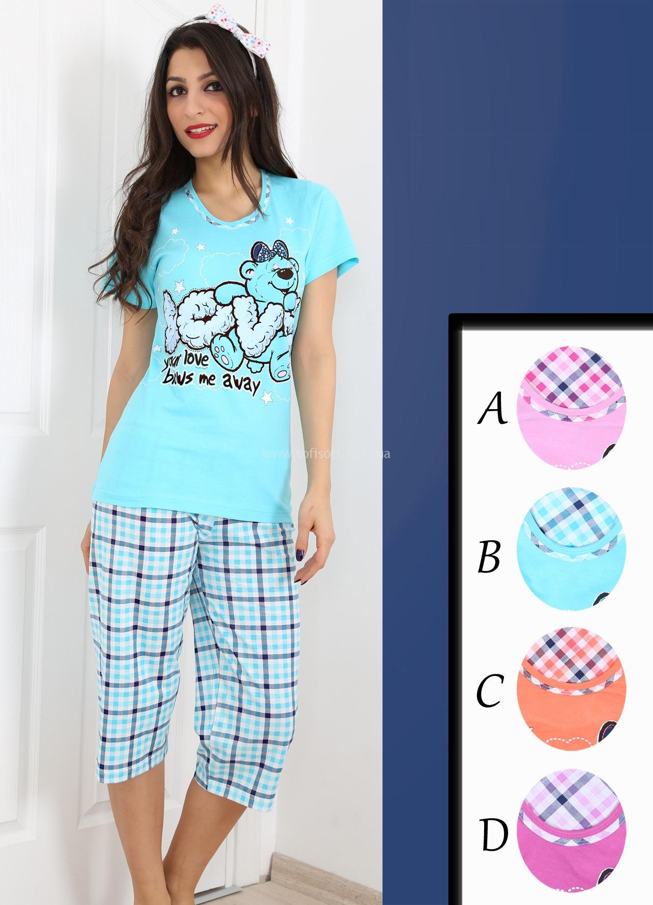 Пижама женская Капри 003492