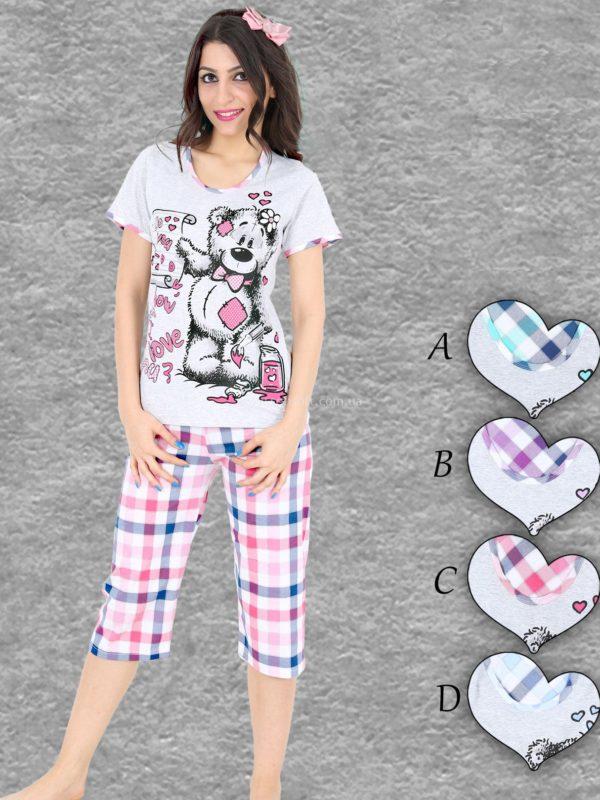 Пижама женская Капри 003560
