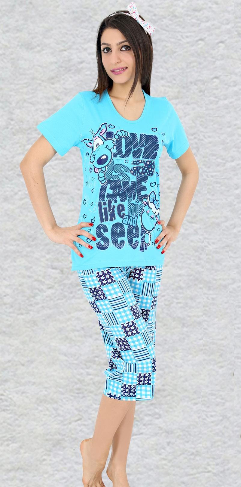 Пижама женская Капри 003959