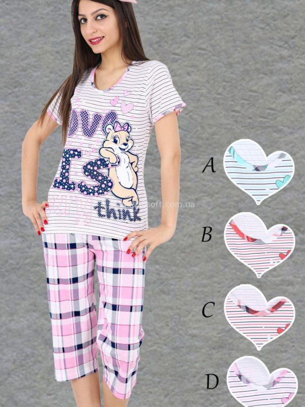 Пижама женская Капри 2210