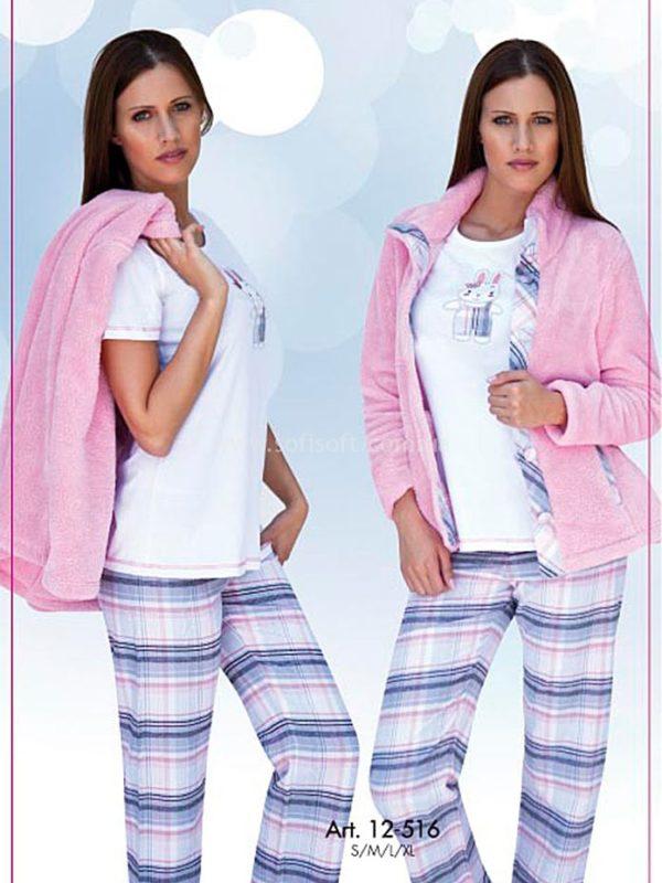 Пижама женская тёплая Cocoon 12-516