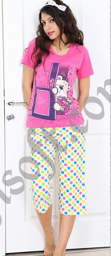 Пижама женская Капри 2100460827