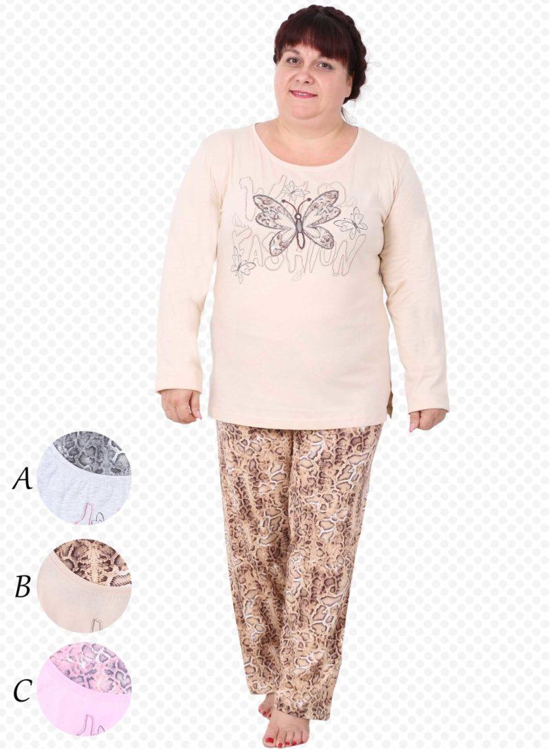 Пижама женская брюки 4032634365
