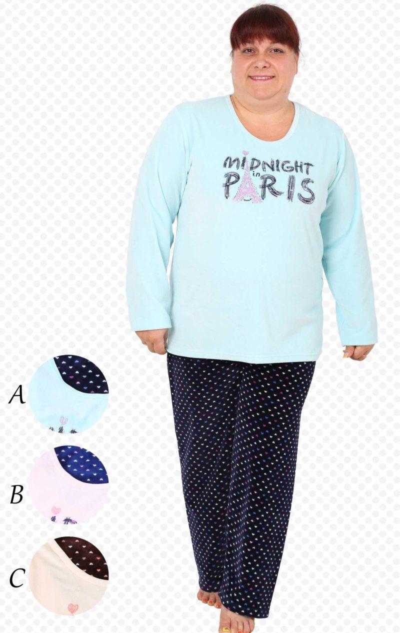 Пижама женская Велюр 4041284411