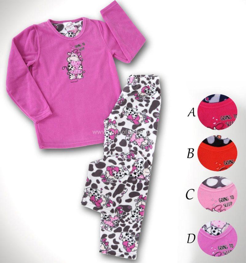 Пижама детская флис 8680646009548