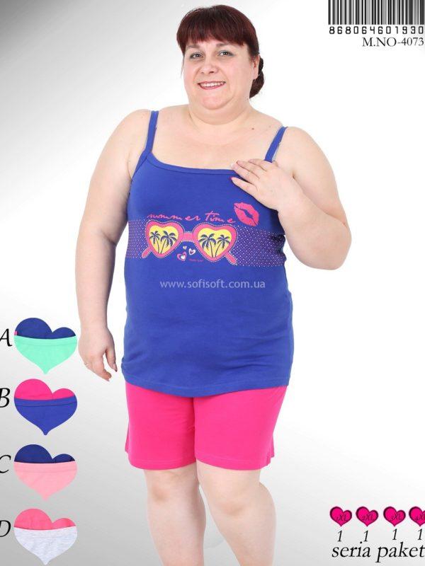 Пижама женская Шорты 8680646019301