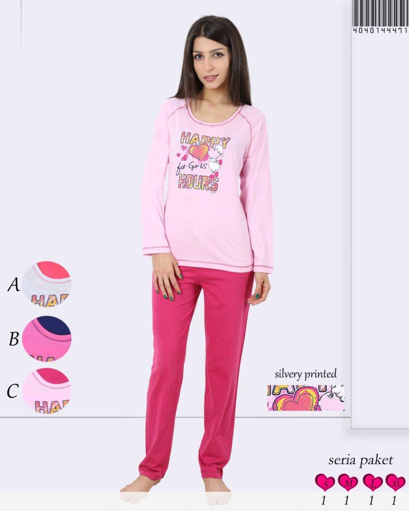 Пижама женская брюки 4040144471