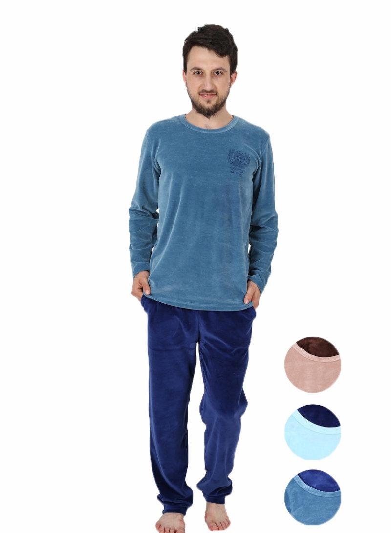 Пижама мужская велюр 4040394417