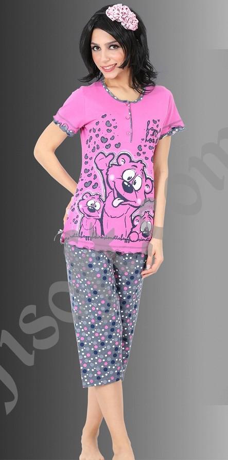 Пижама женская Капри 8680646006684