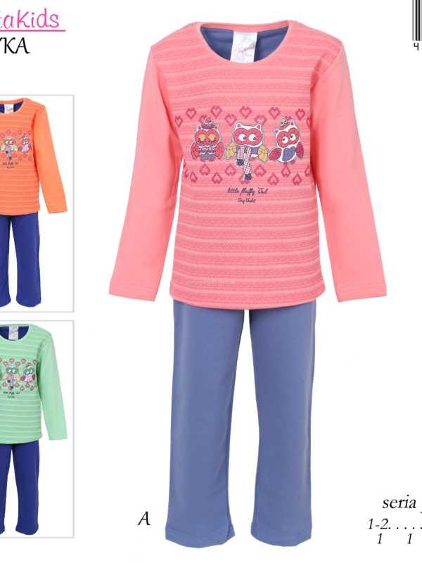 Пижама детская байка 4040313117