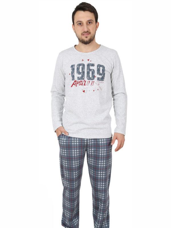Пижама мужская Байка 4041163072