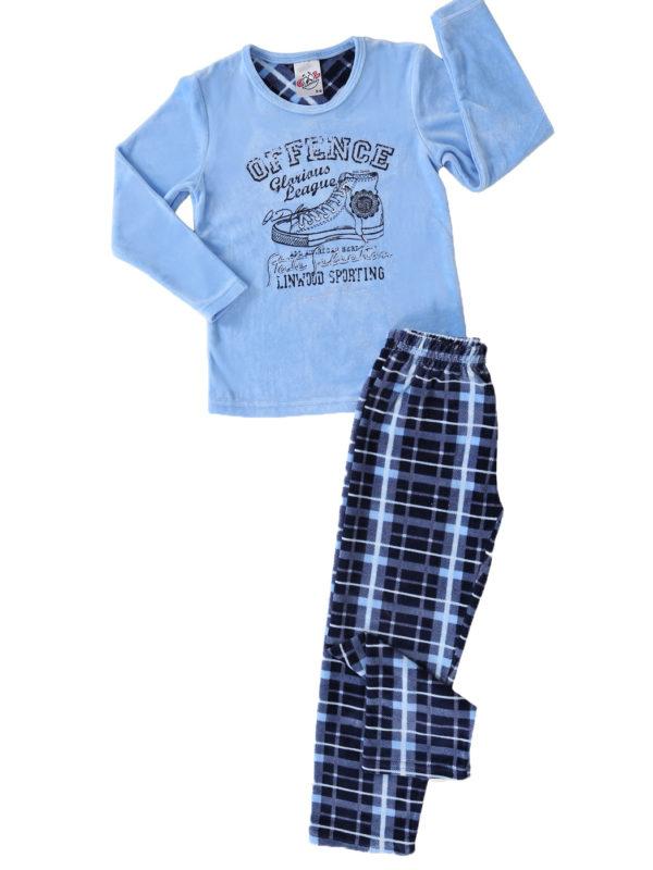 Пижама детская велюр 4060454561 мальчик