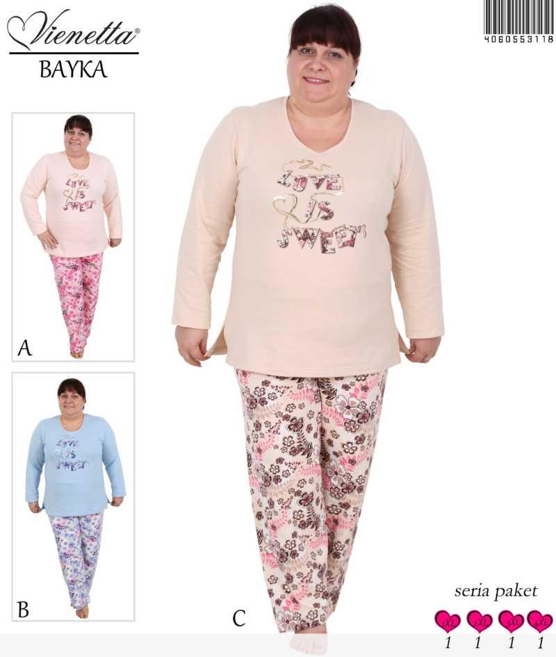 Пижама женская Байка 4060553118