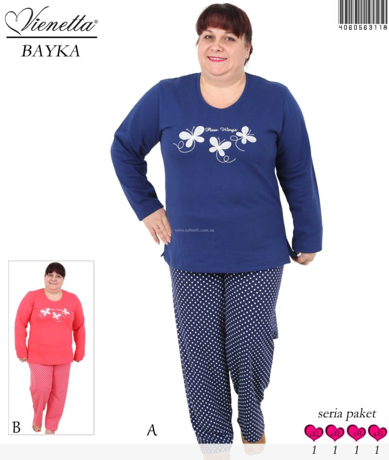Пижама женская Байка 4060563118