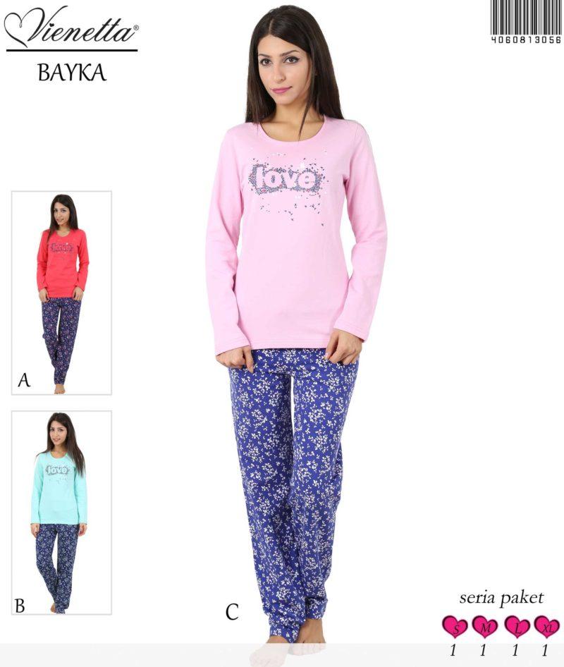 Пижама женская Байка 4060813056