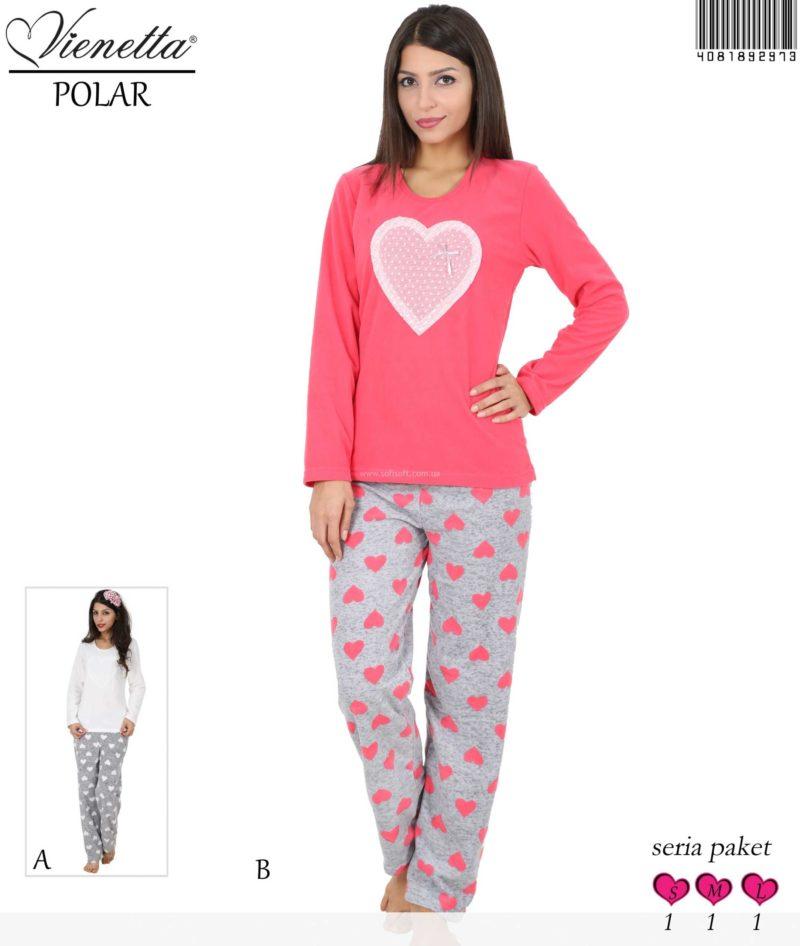 Пижама женская Флис 4081892973
