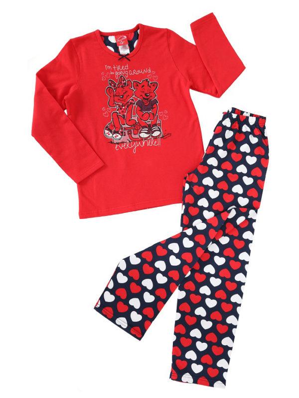 Пижама детская девочка Байка 8680646009630