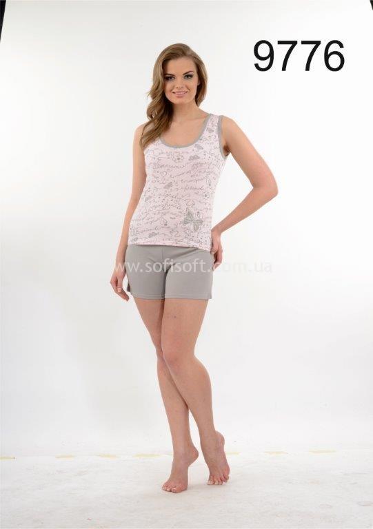 Пижама женская шорты Metin 9776