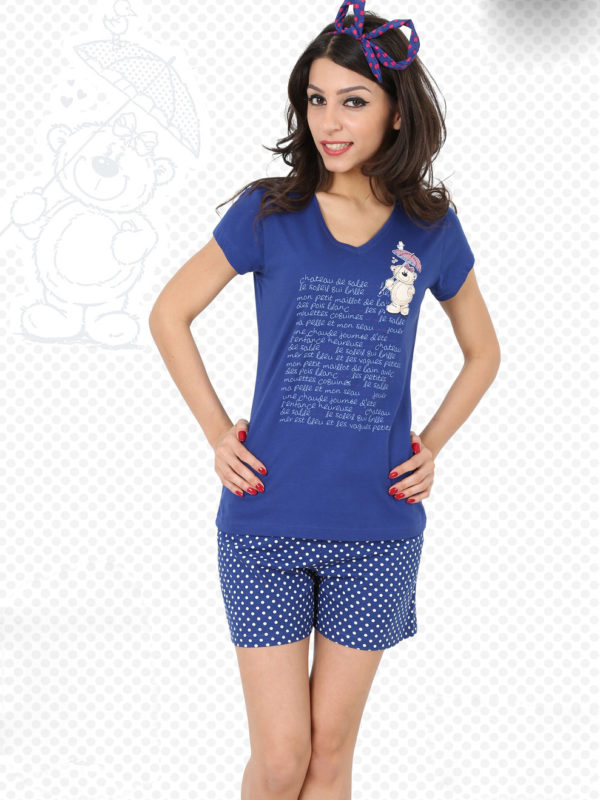 Пижама женская Шорты 3111294193