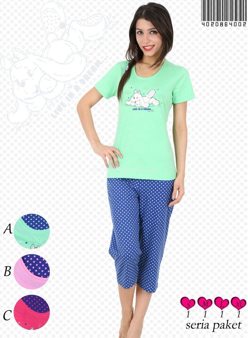 Пижама женская Капри 4020864002