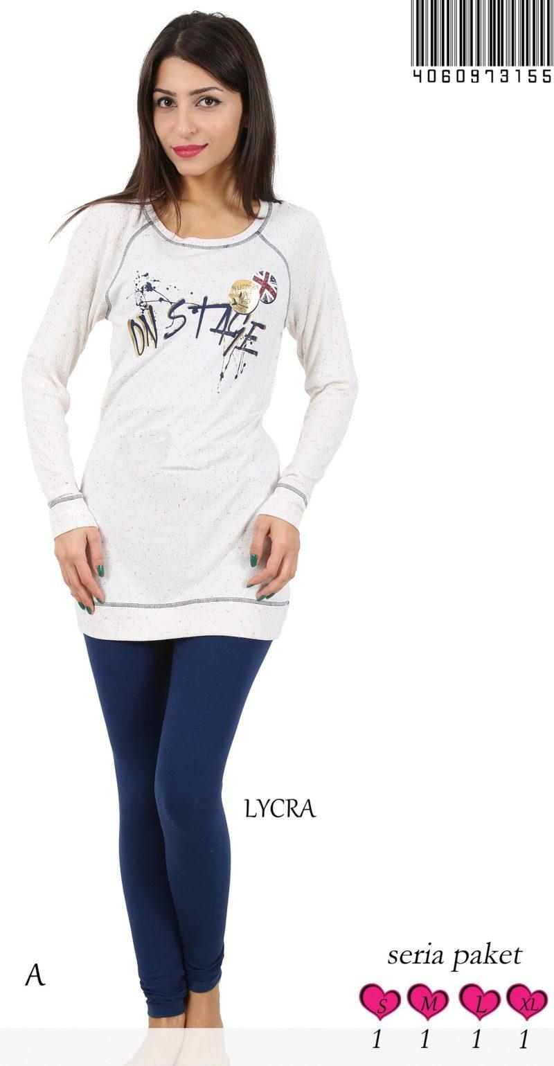 Пижама женская лосины 4060973155