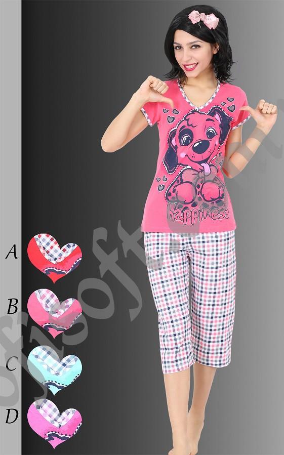Пижама женская Капри 8680646003485