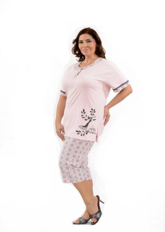 Пижама женская капри Metin 9857