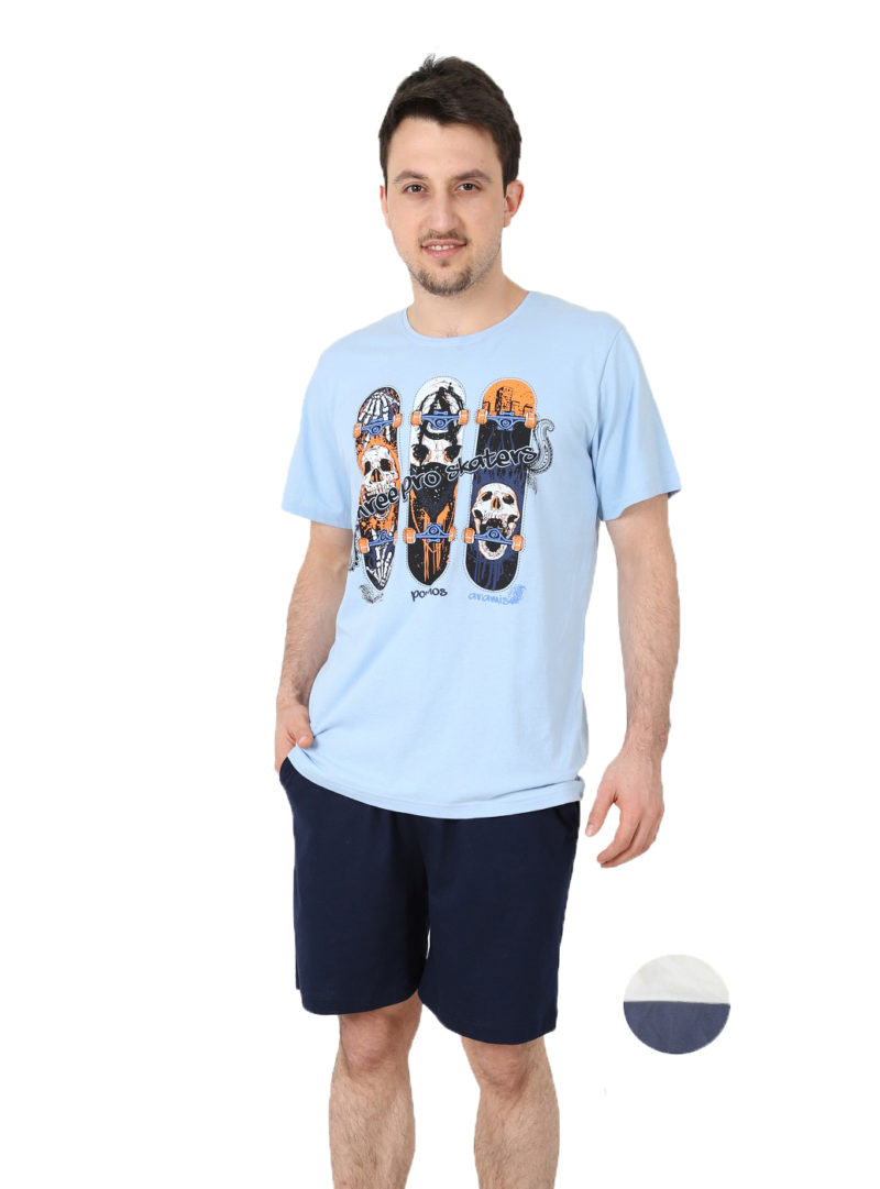 Пижама мужская шорты 4020082976