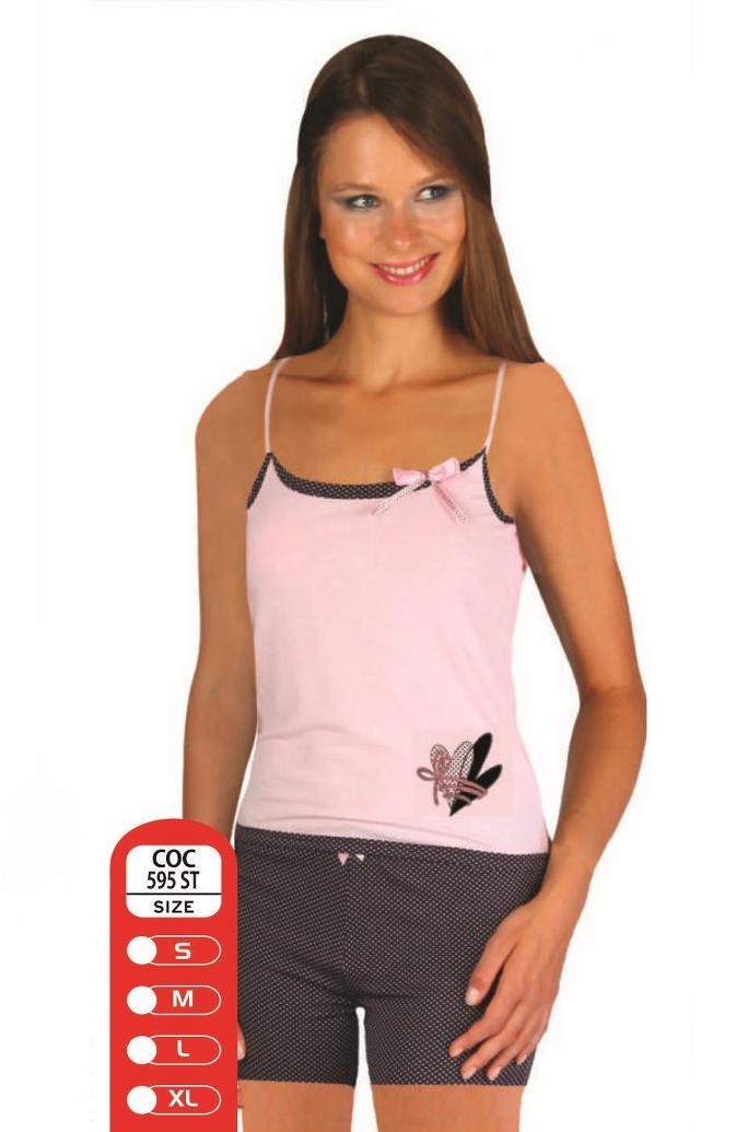 Пижама женская шорты Cocoon 595 ST siyah