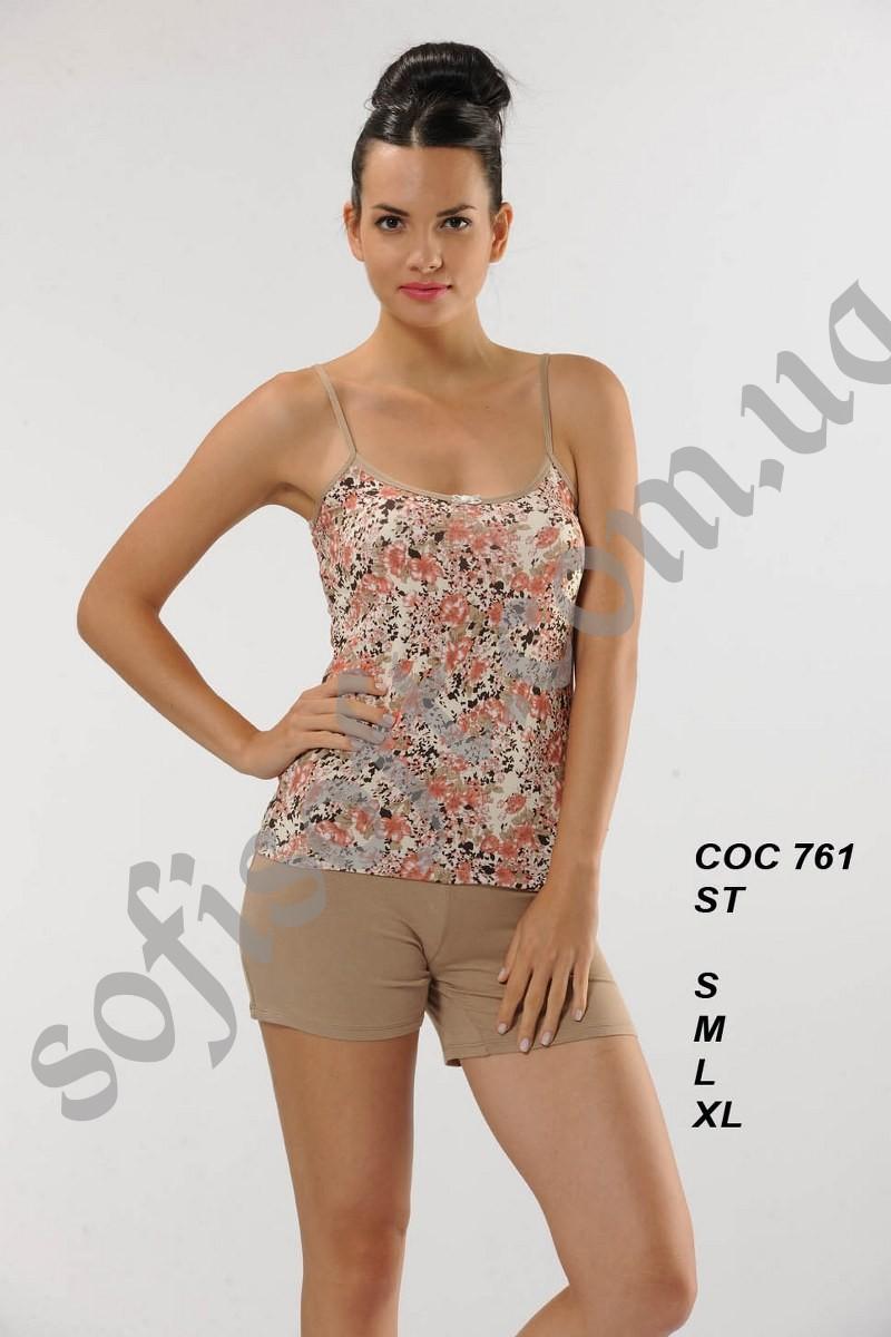 Пижама женская шорты Cocoon 761 ST VIZON
