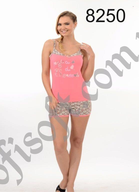 Пижама женская шорты Metin 8250