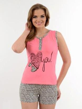 Пижама женская шорты Metin 9528