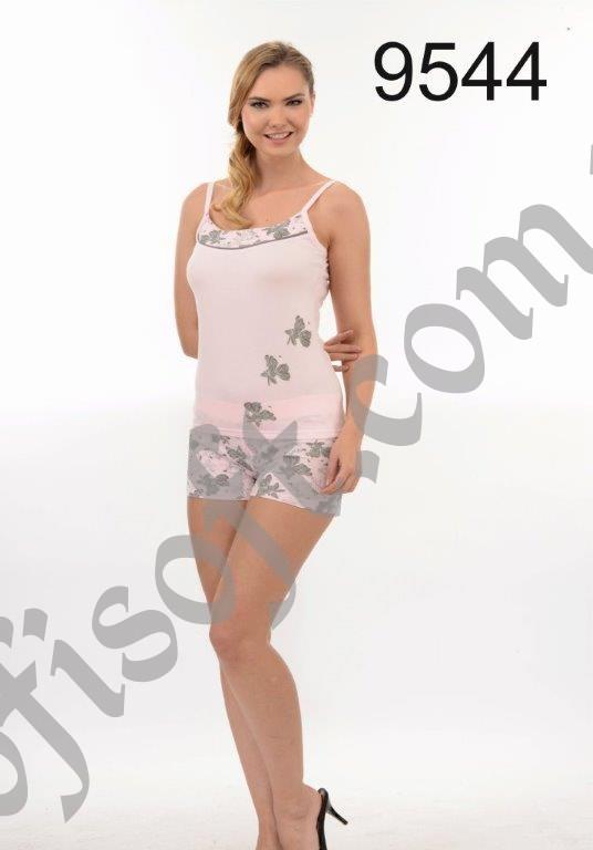 Пижама женская шорты Metin 9544