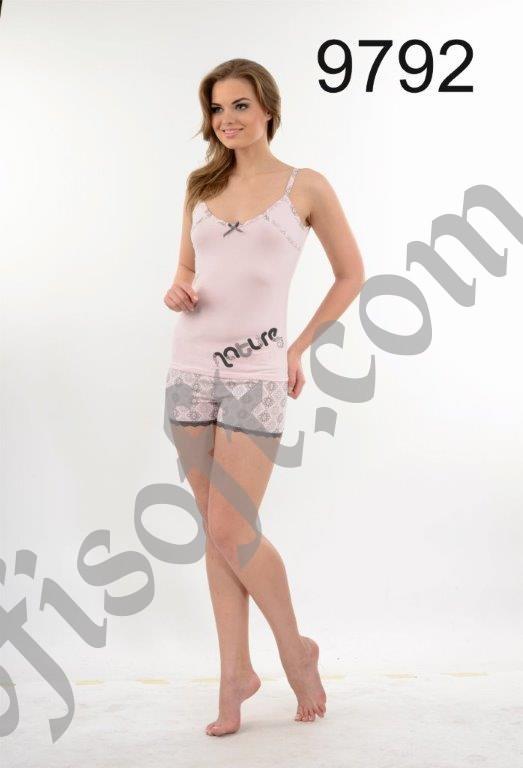 Пижама женская шорты Metin 9792