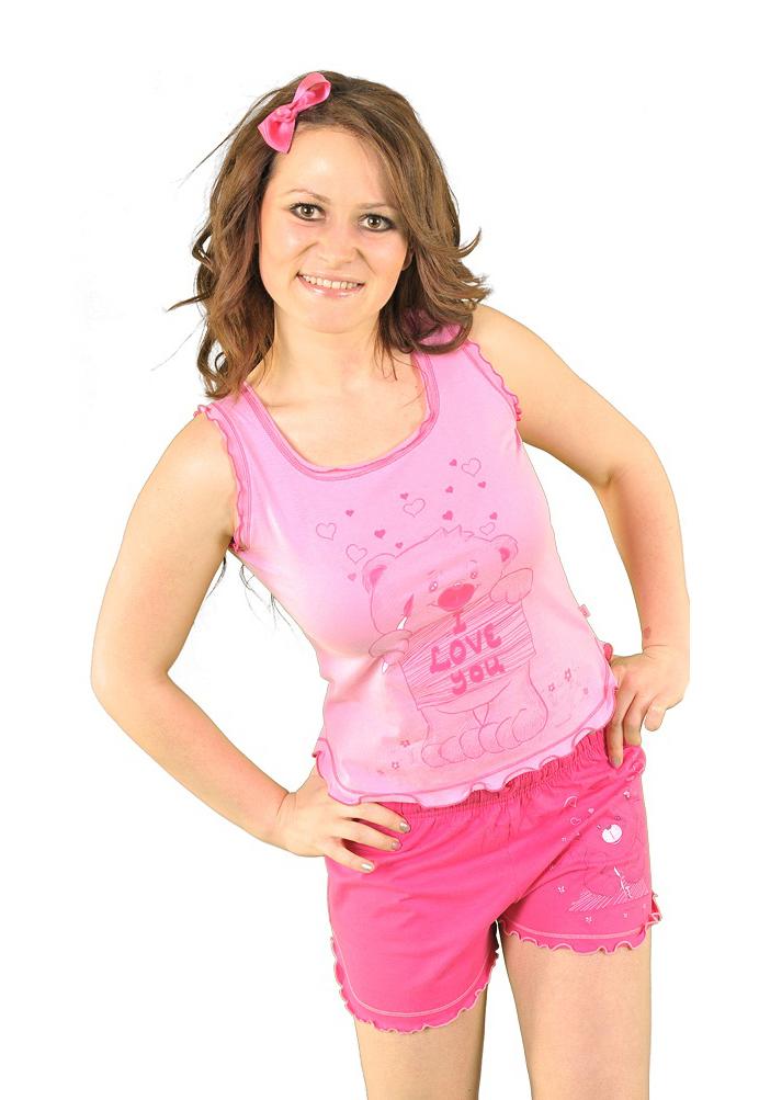 Пижама женская шорты 1131700744