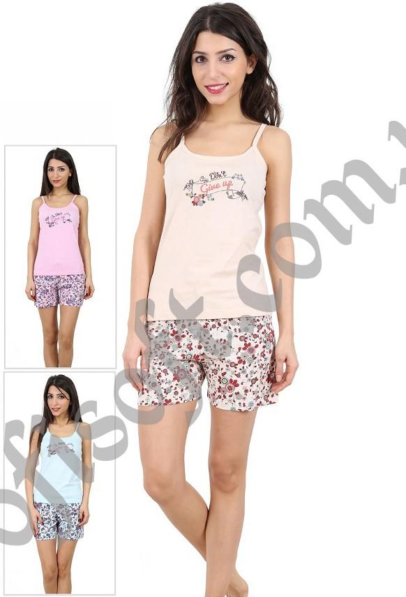 Пижама женская шорты 4080774001