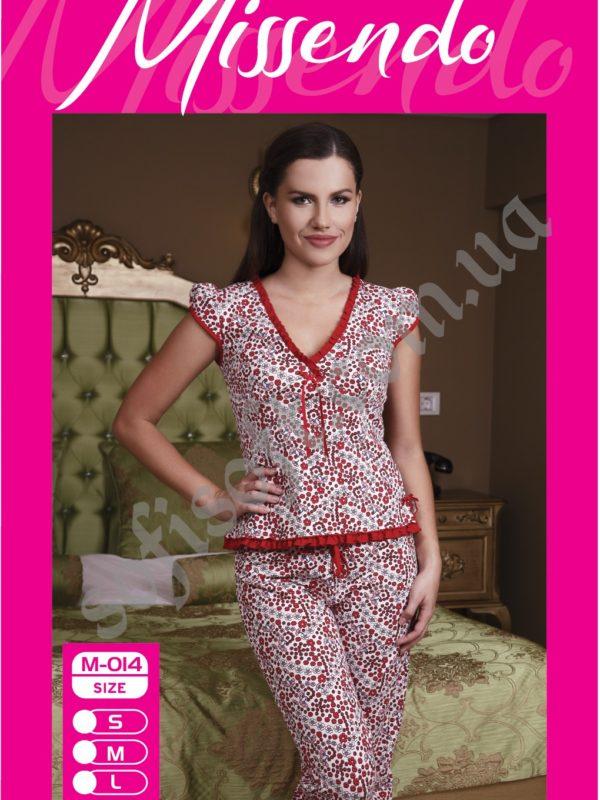Пижама женская капри Missendo 014
