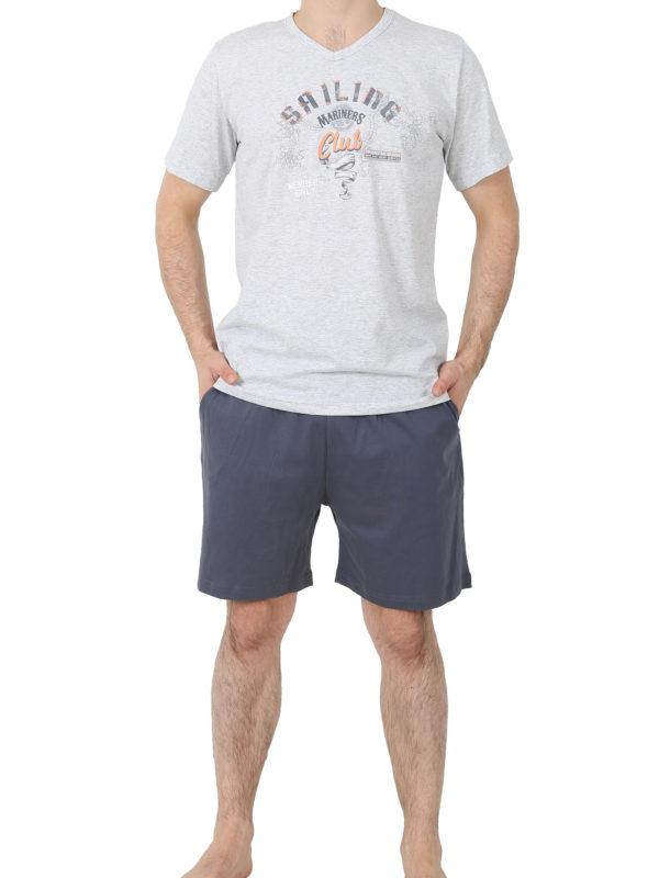Пижама мужская шорты 4122647006