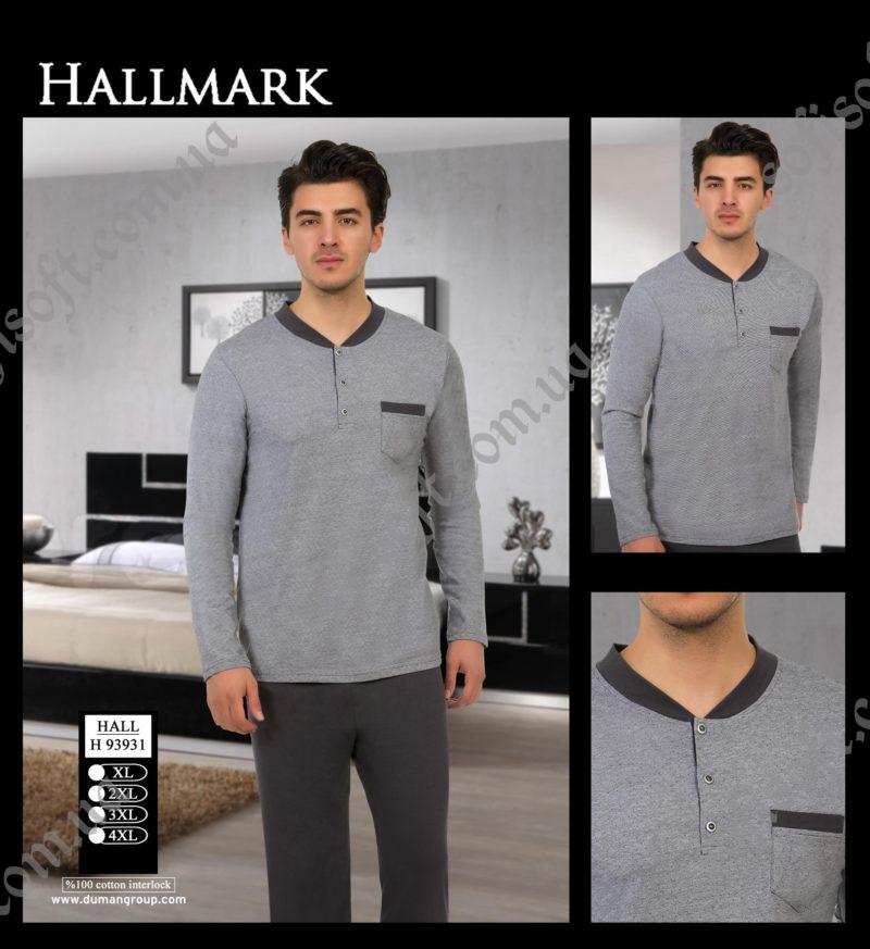 Пижама мужская HALL.H 93931 (XL-4XL)