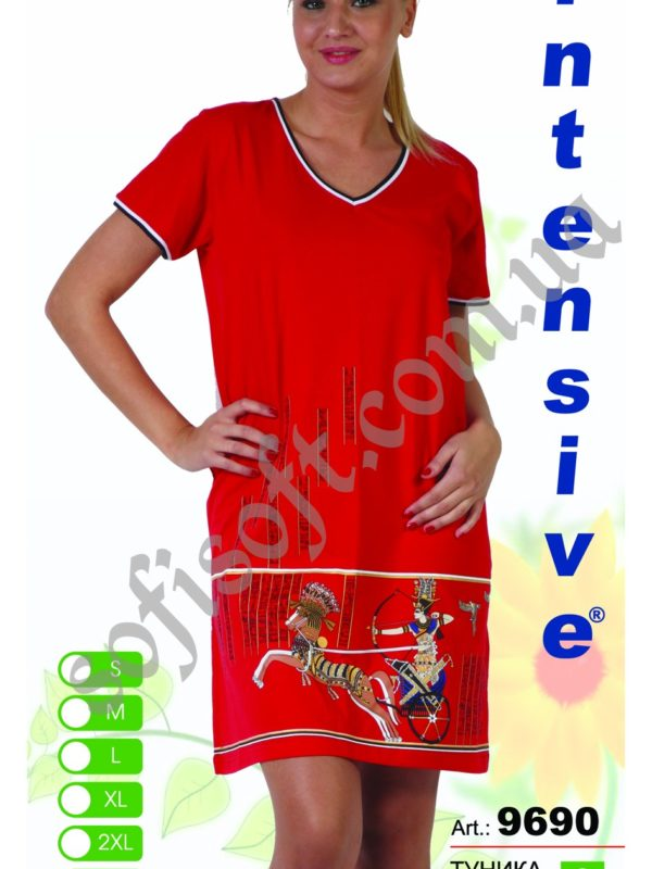 Туника женская Intensive 9690 S-XL