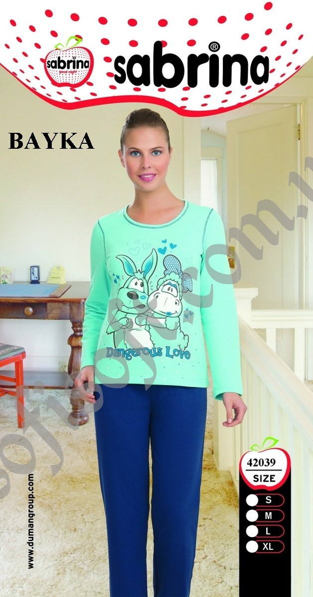 Пижама женская SAB.K42039