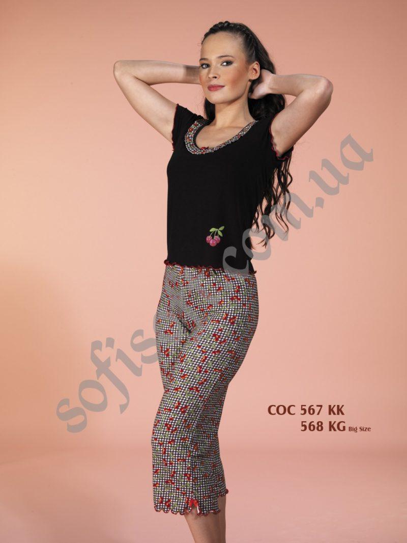 Пижама женская капри Cocoon 567 KK