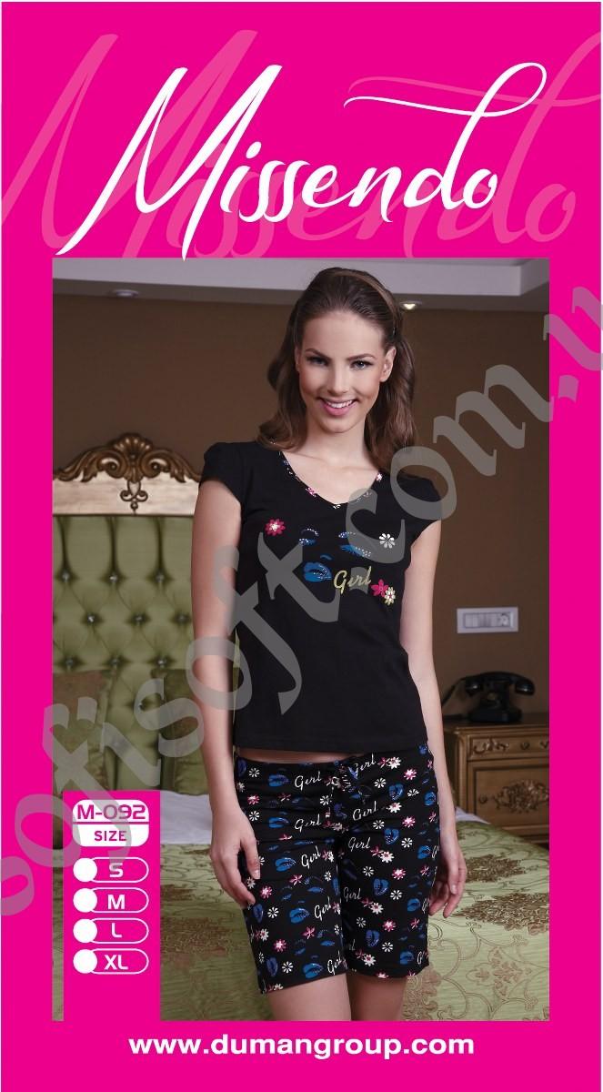 Пижама женская шорты Missendo 092