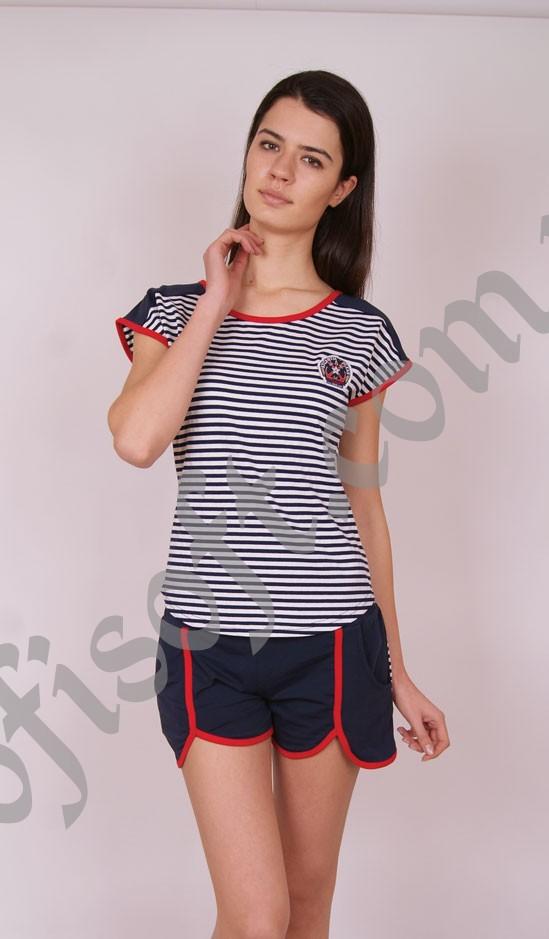 Пижама женская шорты Nicoletta 80533