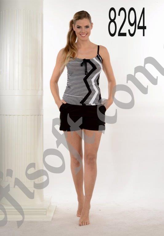 Пижама женская шорты Metin 8294