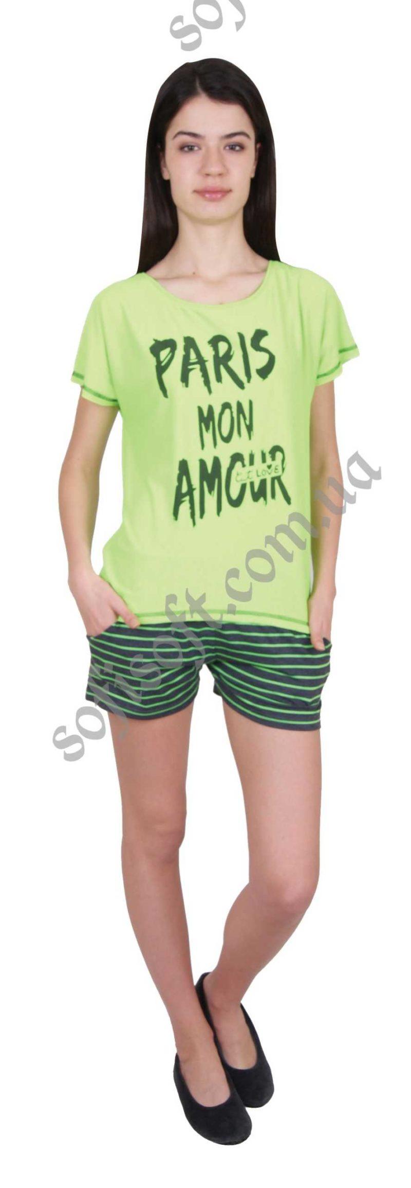 Пижама женская шорты Nicoletta 90144