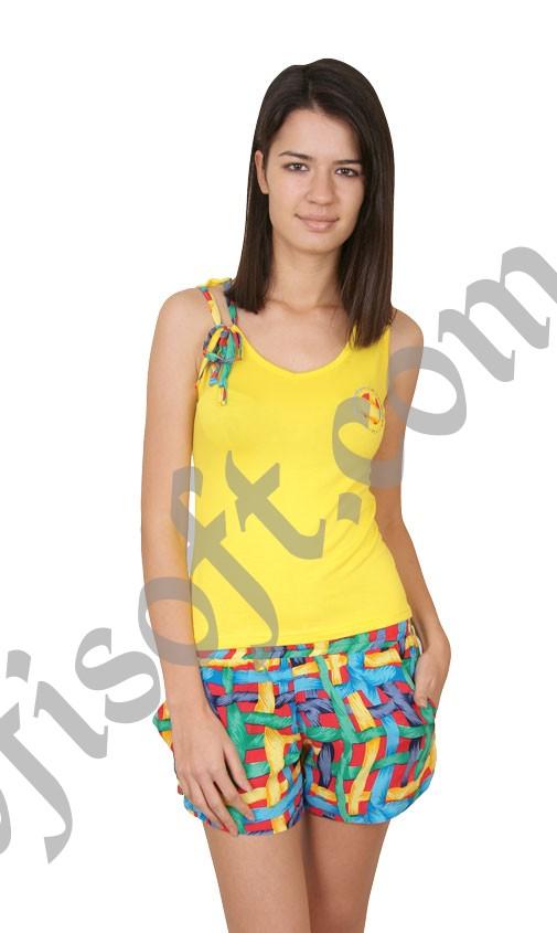 Пижама женская шорты Nicoletta 92104