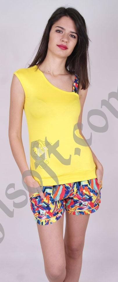 Пижама женская шорты Nicoletta 92108